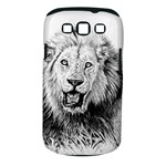 Lion Wildlife Art And Illustration Pencil Samsung Galaxy S III Classic Hardshell Case (PC+Silicone)