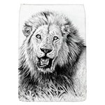 Lion Wildlife Art And Illustration Pencil Flap Covers (S)