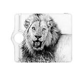 Lion Wildlife Art And Illustration Pencil Kindle Fire HDX 8.9  Flip 360 Case