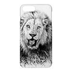 Lion Wildlife Art And Illustration Pencil Apple iPhone 7 Plus Hardshell Case