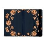 Floral Vintage Royal Frame Pattern Apple iPad Mini Flip Case