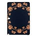 Floral Vintage Royal Frame Pattern Samsung Galaxy Tab Pro 12.2 Hardshell Case