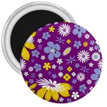 Floral Flowers 3  Magnets
