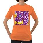 Floral Flowers Women s Dark T-Shirt