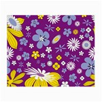 Floral Flowers Small Glasses Cloth