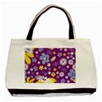 Floral Flowers Basic Tote Bag