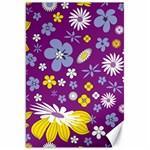 Floral Flowers Canvas 20  x 30