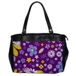 Floral Flowers Office Handbags