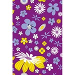 Floral Flowers 5.5  x 8.5  Notebooks