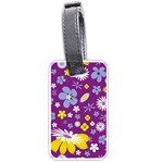 Floral Flowers Luggage Tags (One Side)