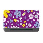 Floral Flowers Memory Card Reader with CF