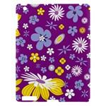 Floral Flowers Apple iPad 3/4 Hardshell Case