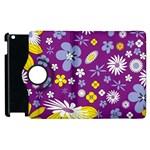 Floral Flowers Apple iPad 2 Flip 360 Case
