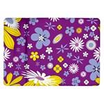 Floral Flowers Samsung Galaxy Tab 10.1  P7500 Flip Case