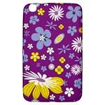 Floral Flowers Samsung Galaxy Tab 3 (8 ) T3100 Hardshell Case
