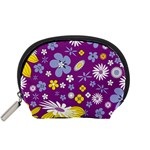 Floral Flowers Accessory Pouches (Small)