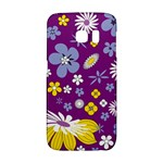 Floral Flowers Galaxy S6 Edge