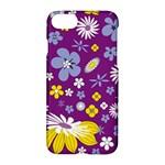 Floral Flowers Apple iPhone 7 Hardshell Case