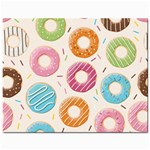 Colored Doughnuts Pattern Jewelry Bags