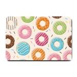 Colored Doughnuts Pattern Small Doormat