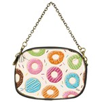 Colored Doughnuts Pattern Chain Purses (One Side)