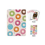 Colored Doughnuts Pattern Playing Cards (Mini)