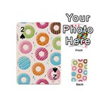 Colored Doughnuts Pattern Playing Cards 54 (Mini)