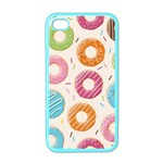 Colored Doughnuts Pattern Apple iPhone 4 Case (Color)