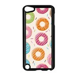 Colored Doughnuts Pattern Apple iPod Touch 5 Case (Black)