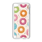 Colored Doughnuts Pattern Apple iPod Touch 5 Case (White)