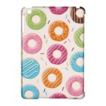 Colored Doughnuts Pattern Apple iPad Mini Hardshell Case (Compatible with Smart Cover)
