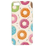 Colored Doughnuts Pattern Apple iPhone 5 Hardshell Case with Stand