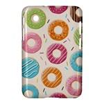 Colored Doughnuts Pattern Samsung Galaxy Tab 2 (7 ) P3100 Hardshell Case