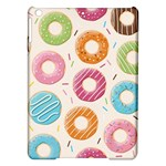 Colored Doughnuts Pattern iPad Air Hardshell Cases