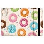 Colored Doughnuts Pattern iPad Air Flip