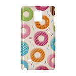 Colored Doughnuts Pattern Samsung Galaxy Note 4 Hardshell Case