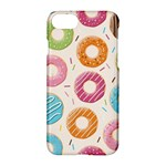 Colored Doughnuts Pattern Apple iPhone 7 Hardshell Case