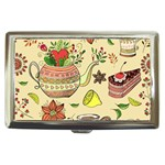 Colored Afternoon Tea Pattern Cigarette Money Cases