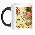Colored Afternoon Tea Pattern Morph Mugs