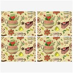 Colored Afternoon Tea Pattern Belt Buckles