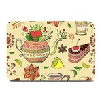 Colored Afternoon Tea Pattern Plate Mats