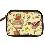 Colored Afternoon Tea Pattern Digital Camera Cases