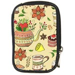 Colored Afternoon Tea Pattern Compact Camera Cases
