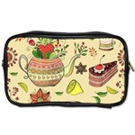 Colored Afternoon Tea Pattern Toiletries Bags