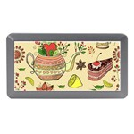 Colored Afternoon Tea Pattern Memory Card Reader (Mini)