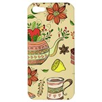 Colored Afternoon Tea Pattern Apple iPhone 5 Hardshell Case