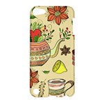 Colored Afternoon Tea Pattern Apple iPod Touch 5 Hardshell Case