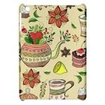 Colored Afternoon Tea Pattern Apple iPad Mini Hardshell Case
