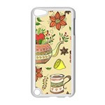 Colored Afternoon Tea Pattern Apple iPod Touch 5 Case (White)