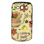 Colored Afternoon Tea Pattern Samsung Galaxy S III Classic Hardshell Case (PC+Silicone)